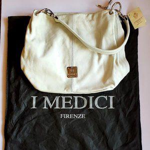 I Medici White Leather Purse